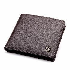 Harga Bostanten Men S Genuine Cowhide Leather Biford Wallet Coffee Intl Online
