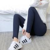 Beli Gaya Korea Dari Wanita Musim Gugur Kapas Baru Celana Panjang Celana Bottoming Celana Warna Biru Baju Wanita Celana Wanita Murah Di Tiongkok