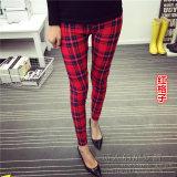 Toko Celana Capri Wanita Motif Cetak Kotak Kotak Coretan Kartun Warna Warni Trendi Kotak Kotak Merah Baju Wanita Celana Wanita Online Tiongkok