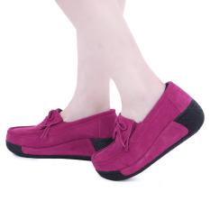 Harga Bowknot Suede Nyaman Baji Sepatu Rose Marah Intl Oem Terbaik