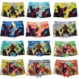 Jual Boxer Anak Ukuran S 8 10 Th Celana Dalam Anak Sempak 1 Set 5Pcs Multicolour Hand Made Murah