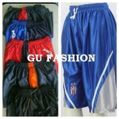 Boxer basket pria xxl, celana pendek laki, kolor grosir murah dewasa jumbo, short pants big size
