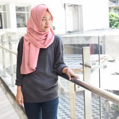 Jual Boxy Sweater Premium Dark Grey Sweater Rajut Grosir