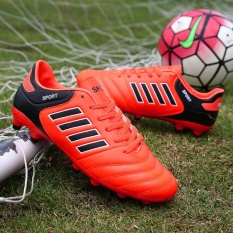 Boy High-end Soccer Sepatu Firm Ground Football Sepatu AIWOQI-Intl
