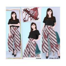 BP11A - Kulot Batik Wanita Modern/Bawahan Batik/Celana Jumbo/Skort/Rok