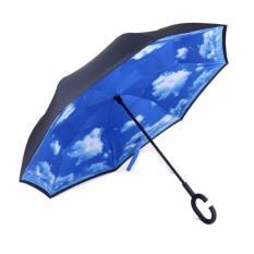 Br9 Payung Kazbrella Payung Terbalik Gagang C Motif Awan Promo Beli 1 Gratis 1