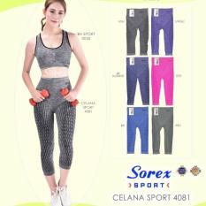 Spesifikasi Bra Celana Sport Senam Sorex Harga 1 Set Murah