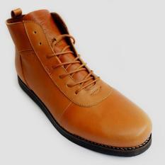 Toko Bradleys Anubis Sepatu Pria Tan Online Terpercaya