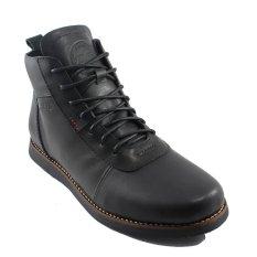 Spesifikasi Bradleys Brodo Sepatu Boots Pria Kulit Asli Black Bradleys Terbaru