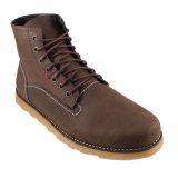 Review Bradleys Classic Sepatu Boots Pria Leather Pull Up Brown Terbaru