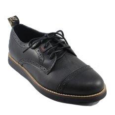 Harga Bradleys London Sepatu Boots Pria Kulit Asli Black Online