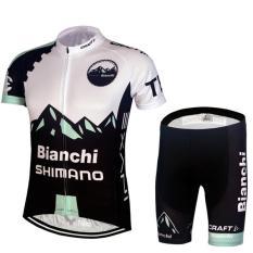 Harga Merek Musim Panas Cepat Kering Lengan Pendek Top Dan Celana Pendek Bersepeda Jersey Atribut Berfoto Bike Breathable Wear Set Intl Branded