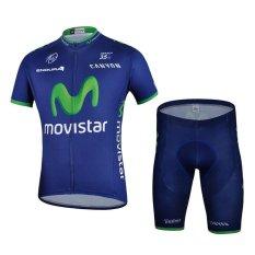 Beli Merek Musim Panas Cepat Kering Lengan Pendek Top Celana Pendek Bersepeda Jersey Atribut Berfoto Bike Breathable Wear Set Intl Lengkap