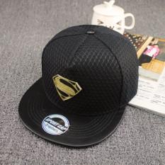Merek Superman Topi Baseball Topi For Pria Wanita Disesuaikan Kasual Kolam  Hip Hop Topi Snapback Topi 33b1268e1e
