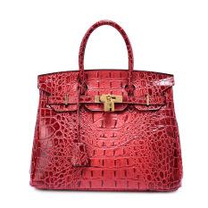 Merek Wanita Fashion Kulit Asli Tas Ransel Ukuran 30 16 23 Cm Warna Merah Intl Oem Murah Di Tiongkok