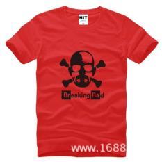 Jual Breaking Bad Walter Skull T Shirt Oem Grosir