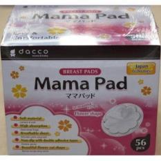 Breastpad Mama Pad - 56Pc- 1 Kali Pakai Tidak Bisa Dicuci