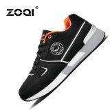 Daftar Harga Bernapas Olahraga Sepatu Zoqi Pria Fashion Sepatu Kasual Sepatu Lari Hitam Intl Zoqi