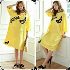 Brilliant Fast On Dress Banana Yellow Indonesia Diskon 50