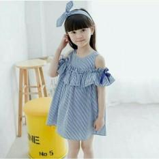 Spesifikasi Brilliant Fast On Dress Ipoyo Stripe Baru