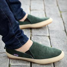 Sepatu Santai Pria Inggris Memakai Sepatu Kanvas Sepatu Sandal Zapato Bernapas Sepatu -Intl