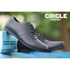Brodo Low Boots Sepatu Pria - Sepatu BIkers Pria -CIRCLE ORIGINAL