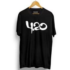Beli Brother Store Kaos Distro 420 Usa White Premium Pake Kartu Kredit