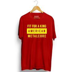 Brother Store Kaos Distro  American Metalcore USA Yellow  - RED Premium
