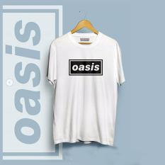 Brother Store Kaos Distro Band Musik - OASIS Black  - White Premium