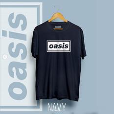 Brother Store Kaos Distro Band Musik - OASIS White - NevyPremium