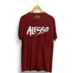 Harga Brother Store Kaos Distro Uk Alesso White Maroon Premium Online