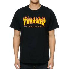 Jual Brother Store Kaosthrasher Magazine Black Premium Grosir