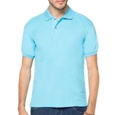 Brother Store  Shirt Polos Pendek - biru muda