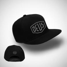 Brother Store Topi Snapback  Logo Deus USA Abu Abu Premium