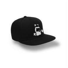 Brother Store Topi Snapback Panda Fart White  - Black Premium
