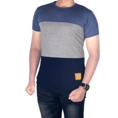 BSG_Fashion1 Baju Kaos Pendek Distro Combinasi/Kaos Hitam/Kaos Casual/Kaos Long Line/Kaos Distro/Kaos Oblong/Kaos Man/Kaos Young Lex/Kaos YOGS/Kaos Swag IA 5372