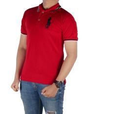 Bsg Fashion1 Polo Kaos Pria Polo Shirt Kaos Polo Kaos Lengan Pendek Kaos Pria Kaos Polos Kaos Berkerah Kaos Lengan Panjang Kaos Man Ip 4544 Merah Bsg Fashion1 Diskon