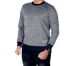 Bsg_fashion1 Sweater Polos Hitam Motif Bercak/ sweater rajut pria/sweater pria rajut/sweater polos oblong/sweater polos pria/ kaos polos lengan panjang/sweatter ariel noah/sweater pria/sweater rajut polos GX 5312