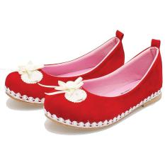 Beli Bsm Soga Bas 466 Sepatu Anak Perempuan Bahan Synth Cantk Dan Lucu Merah Baru