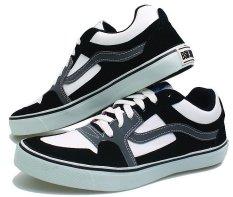 BSM Soga BAY 878 Sepatu Kasual/ Kets/ Sekolah/ Sport Pria Syntetic - Keren - Hitam Kombinasi