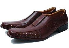 Top 10 Bsm Soga Bdr 128 Sepatu Pantofel Formal Kerja Pria Kulit Asli Elegan Coklat Online