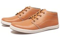BSM Soga BIN 762 Sepatu Kasual/ Kets/ Sekolah/ Sport Pria Syntetic - Keren - Tan