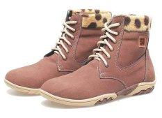 Beli Barang Bsm Soga Bma 881 Sepatu Boots Perempuan Syntetic Elegan Coklat Online