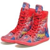 Katalog Bsm Soga Brm 922 Sepatu Anak Laki Laki Bahan Canvas Lucu Dan Keren Merah Kombinasi Terbaru