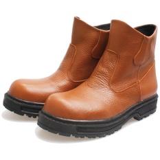 Bsm Soga Bru 317 Sepatu Boots Safety Pria - Bahan Kulit - Gagah Dan Keren 247fad5ec8