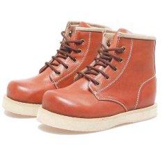 Penawaran Istimewa Bsm Soga Bsm 419 Sepatu Boots Anak Laki Laki Syntetic Keren Tan Terbaru