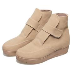 Bsm soga BSP 126 Sepatu Boots Casual Wanita-Sintetis-elegan terbaru 2017 (Cream)