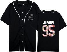 BTS Anti Peluru Model Sama Konser Bantuan Pria Dan Wanita Lengan Pendek T-shirt Kemeja (Hitam Dan Biru) baju atasan kaos pria kemeja pria