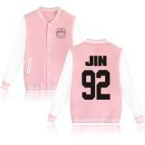 Bts Bangtan Boys Harajuku Sweatshirts Wanita Winter Casual Hoodies Bts Kpop Hoodie Untuk Pecinta Wanita Pink Sweatshirt Plus Ukuran Xxxxl Jin 92 Pink Intl Di Tiongkok