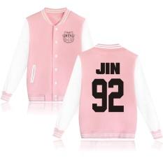Iklan Bts Bangtan Boys Harajuku Sweatshirts Wanita Winter Casual Hoodies Bts Kpop Hoodie Untuk Pecinta Wanita Pink Sweatshirt Plus Ukuran Xxxxl Jin 92 Pink Intl